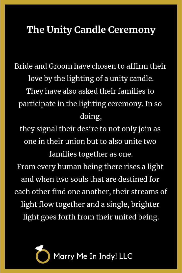 Unity Candle Ceremony Scripts, Scriptures and Readings with PDF's
