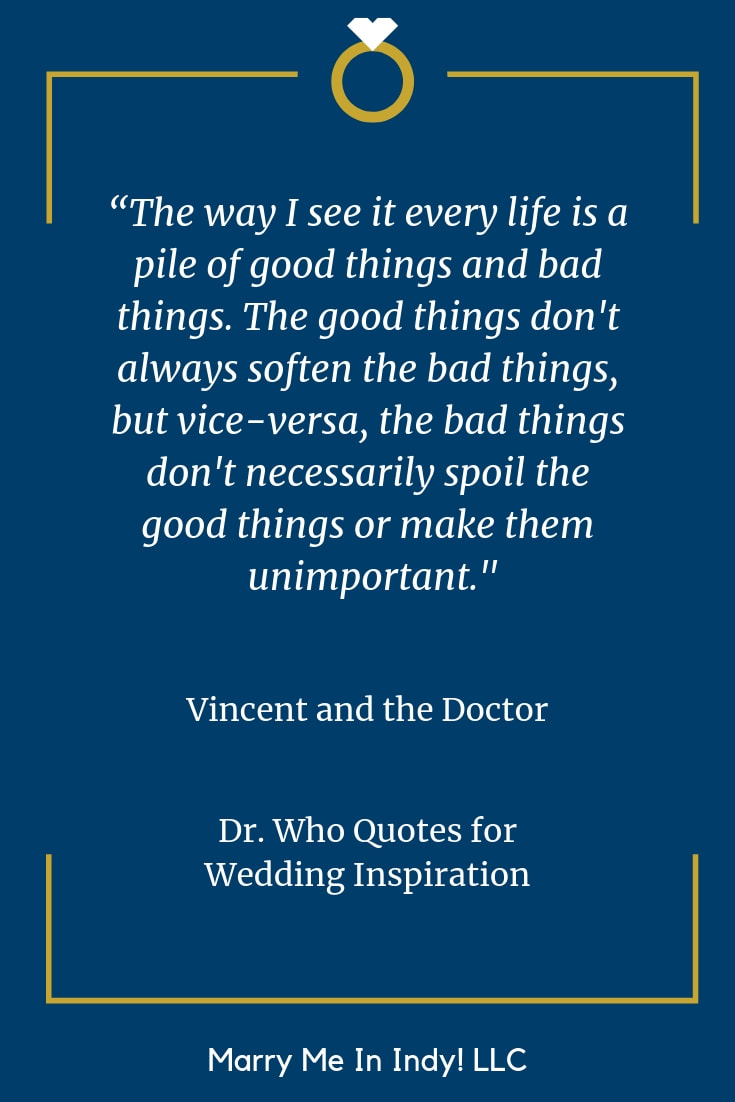 42 Dr. Who Quotes for a Wedding Ceremony-Fun and Interesting Weddings