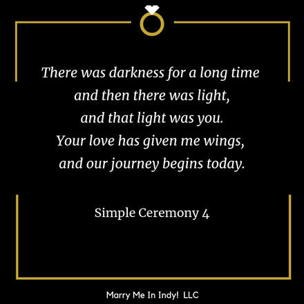 Simple Wedding Ceremony Script 4 with PDF