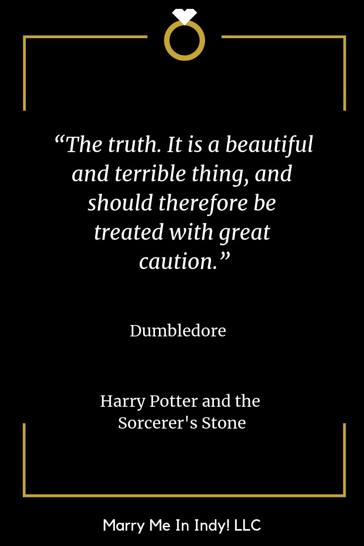 56 Harry Potter Quotes With Wisdom For  Your Wedding Ceremony