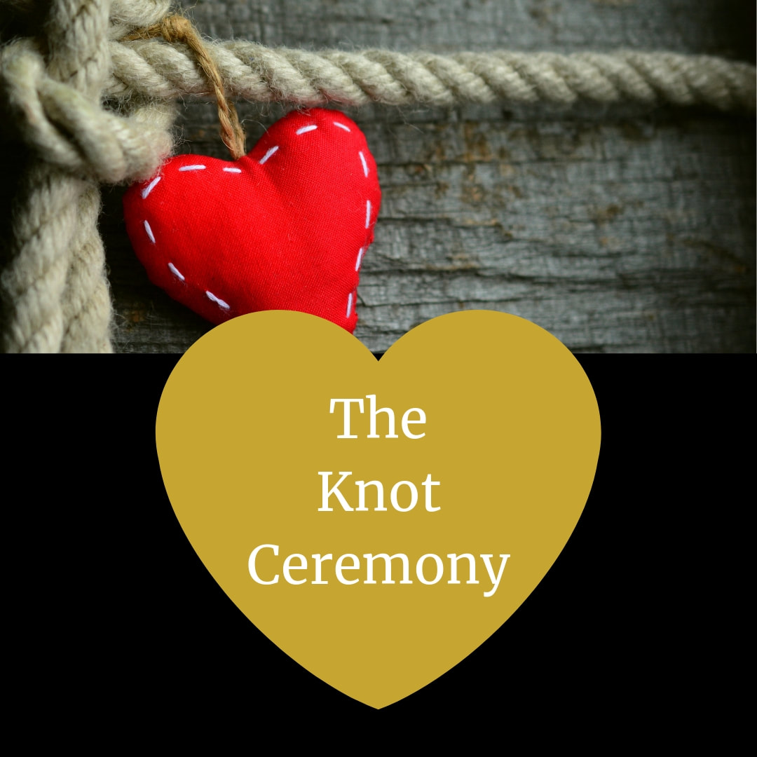 Tying of the Fisherman's Knot, Wedding Ceremony Pro. Marry Me In Indy! LLC