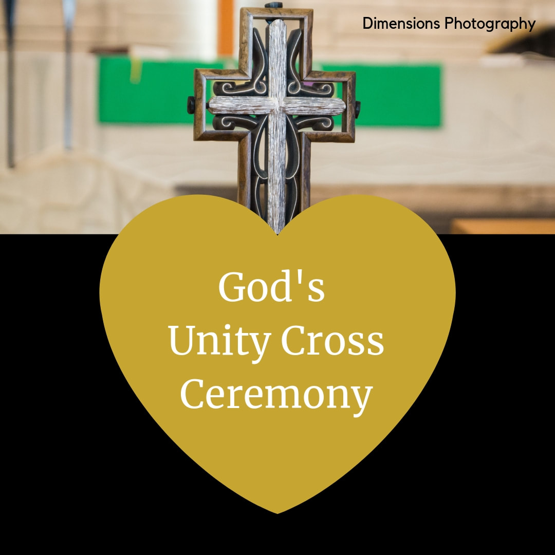 God's Unity Cross Ceremony Scripts.  Marry Me In Indy! LLC Wedding Ceremony Pro