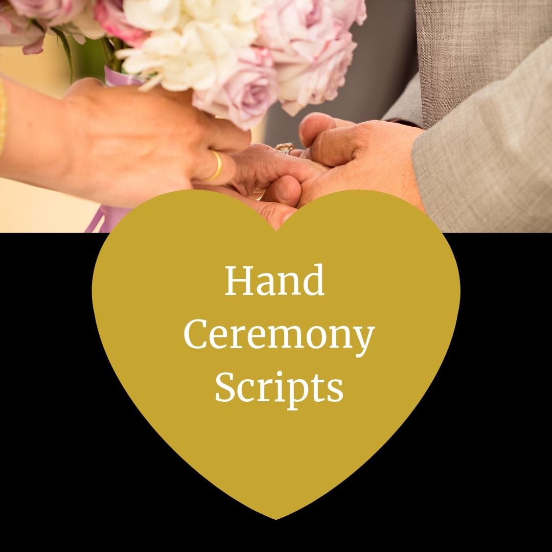 Hand Ceremony Scripts.  Wedding Ceremony Pro.  Marry Me In Indy! LLC