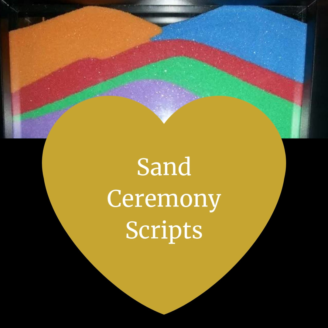 Unity Sand Ceremony Scripts for your wedding.  Wedding Ceremony Pro. Marry me In Indy! LLC