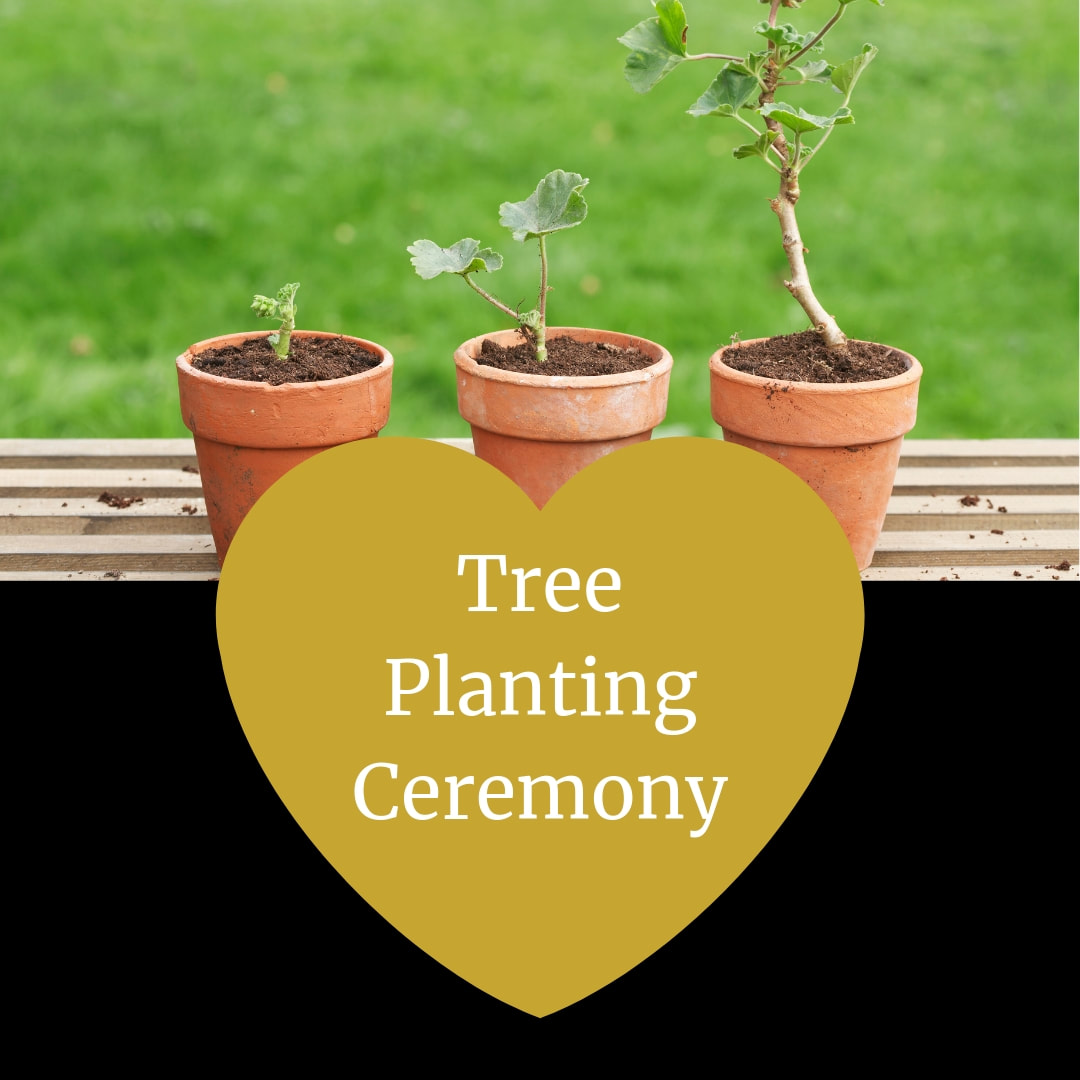 Tree Planting Ceremony.  Wedding Ceremony Pro. Marry Me In Indy! LLC