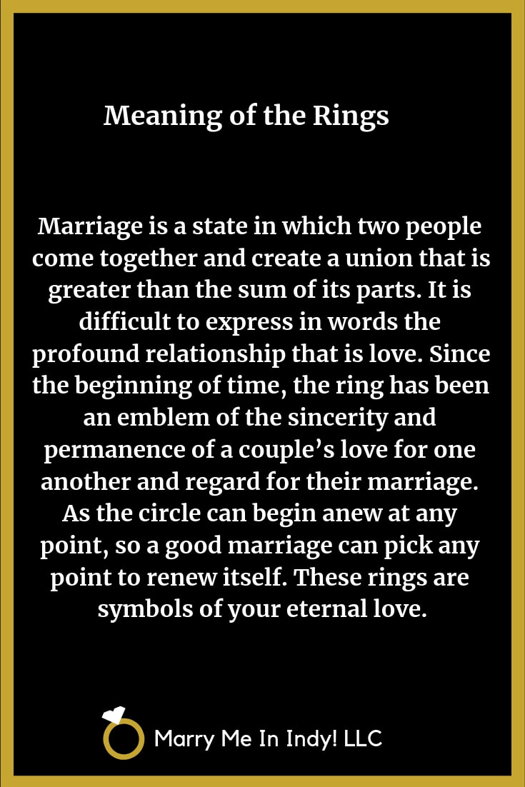 Meaning of the Wedding Rings 10