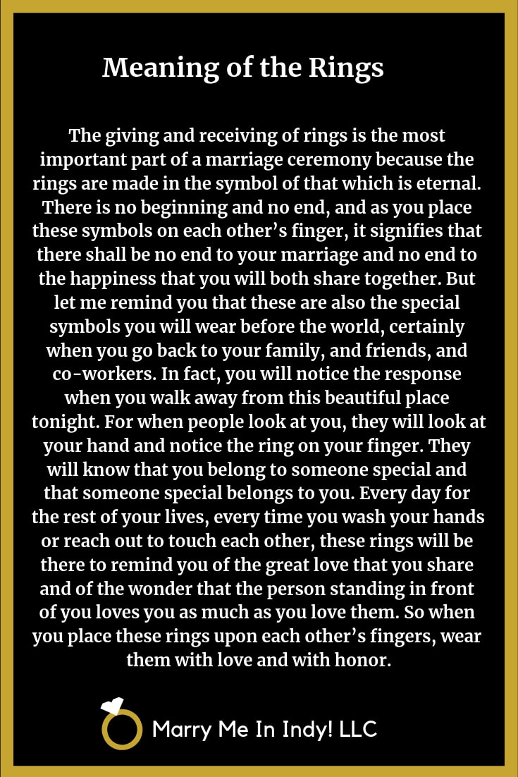 Meaning of the Wedding Rings 14