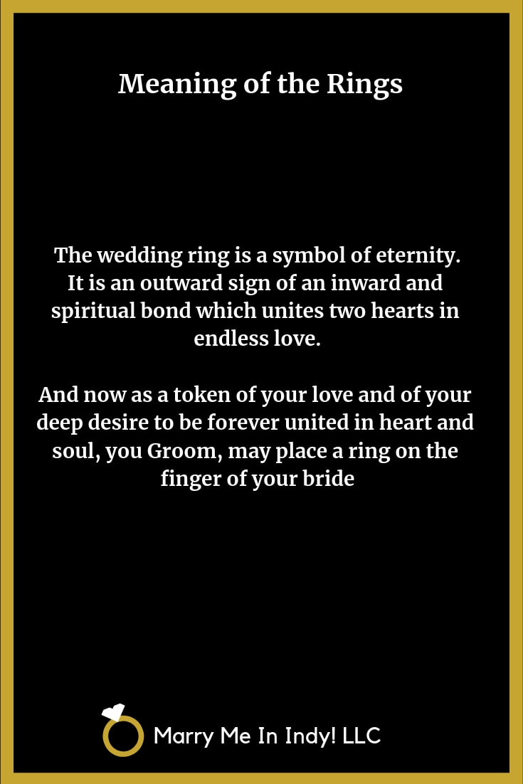 Meaning of the Wedding Rings 20