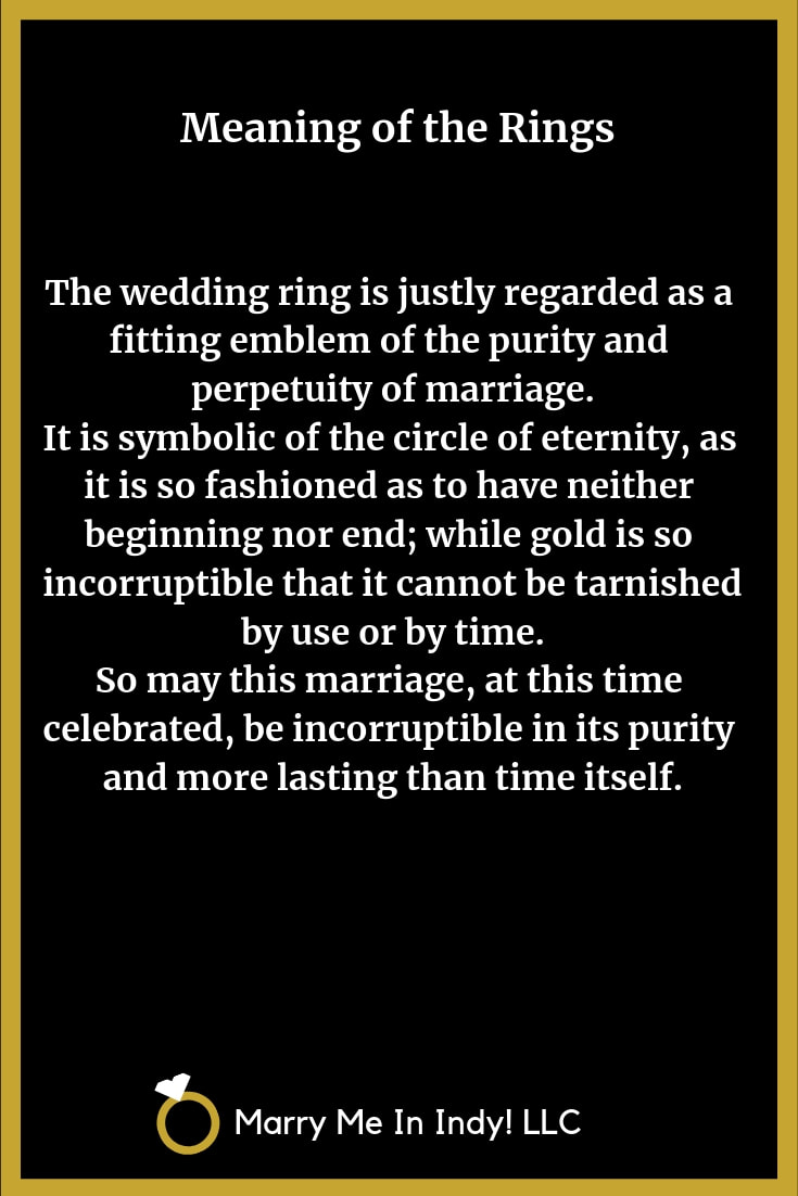 Meaning of the Wedding Rings 21