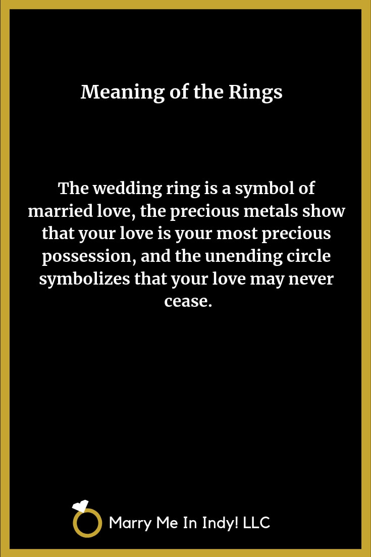 Meaning of the Wedding Rings 9