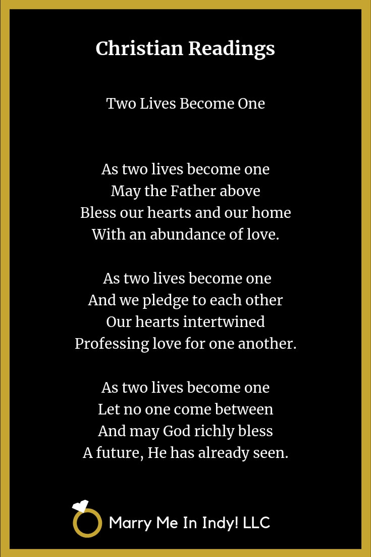 ​Two Lives Become One